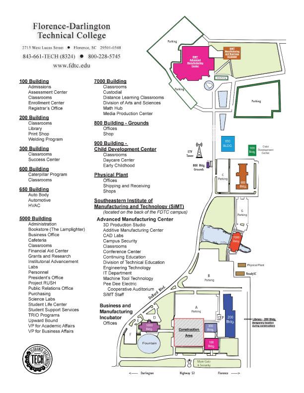 Forsyth Tech Main Campus Map.100 Main Campus Ft Pierce University Of Namibia Main Campus Map