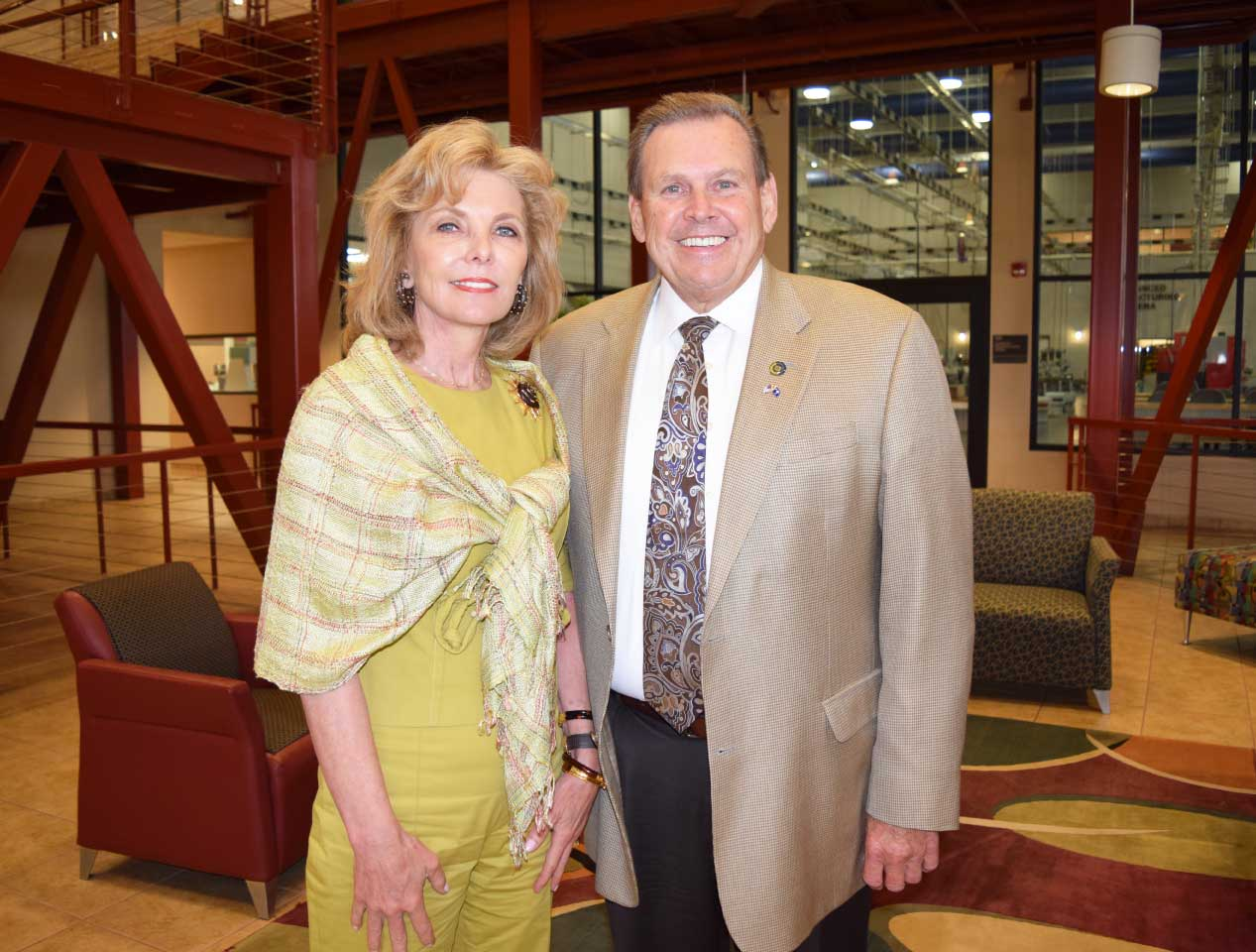 Darla Moore and Dr Dillard
