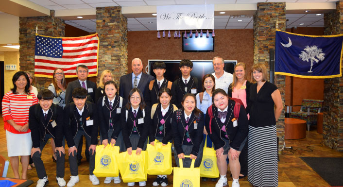 FDTC - Marketing - FDTC Welcomes Korean High School Students
